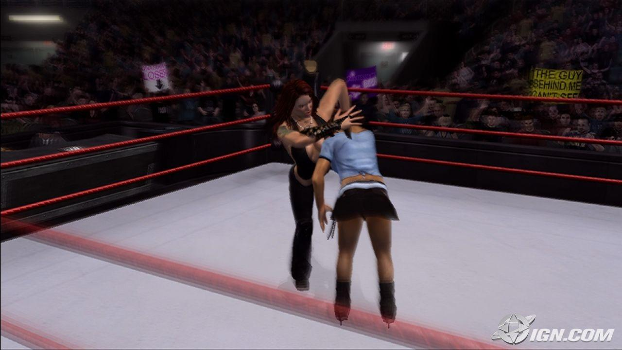lita - wwe smackdown vs  raw 2007