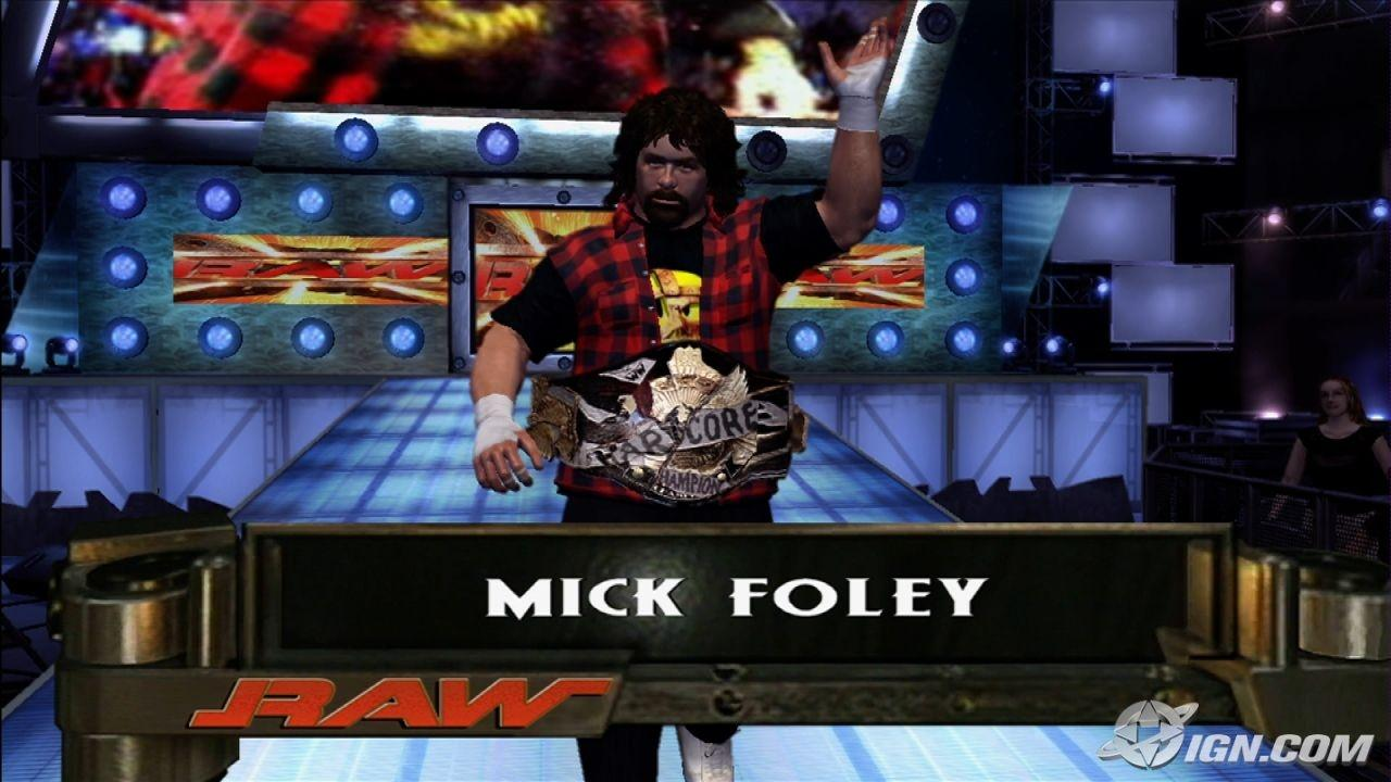 Mick Foley Wwe Smackdown Vs Raw 2007 Roster