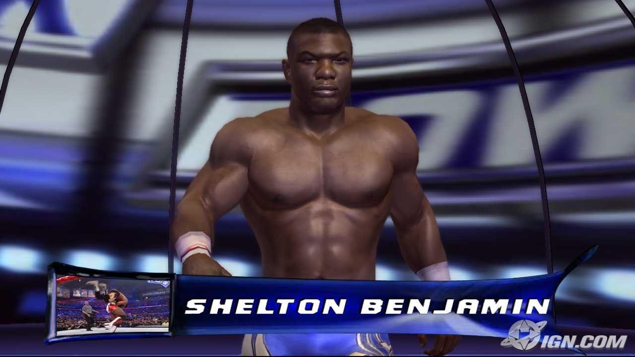 shelton benjamin - wwe smackdown vs  raw 2007