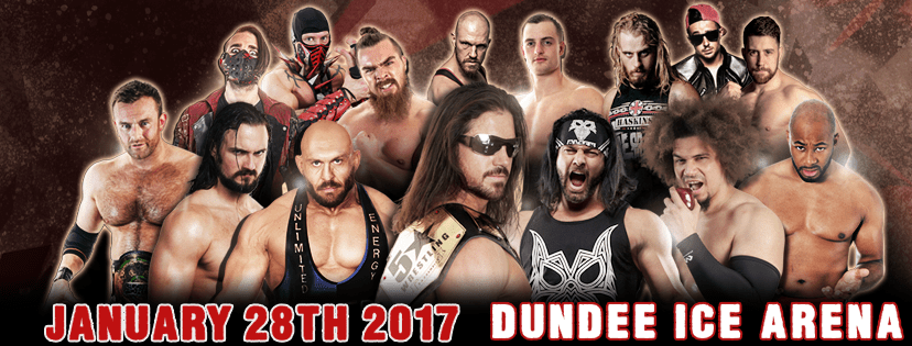Historic 5 Star Wrestling SuperShow on January 28, 2017 at Dundee Ice Arena