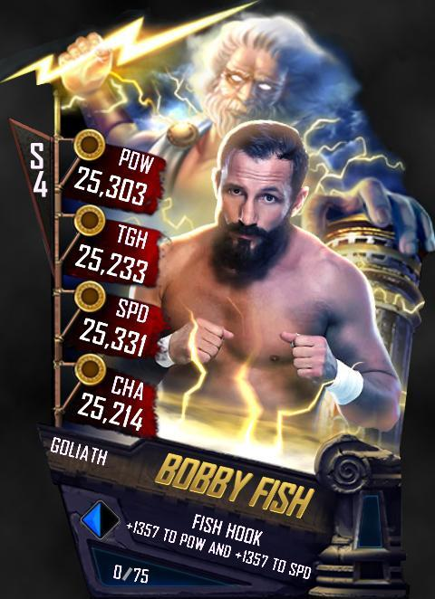 WWE SuperCard Fusion Bobby Fish