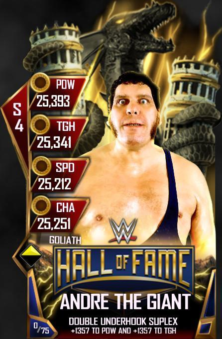 WWE SuperCard HOF Andrew the Giant
