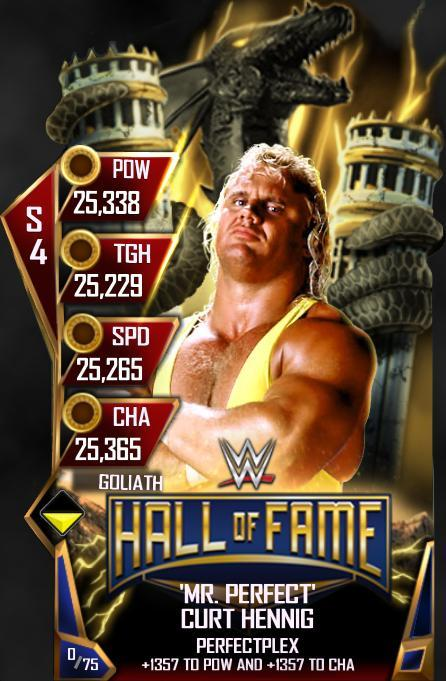 WWE SuperCard HOF Mr. Perfect