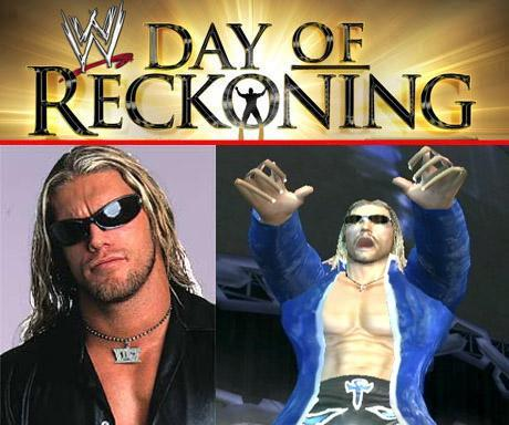 Edge - WWE Day Of Reckoning - Roster
