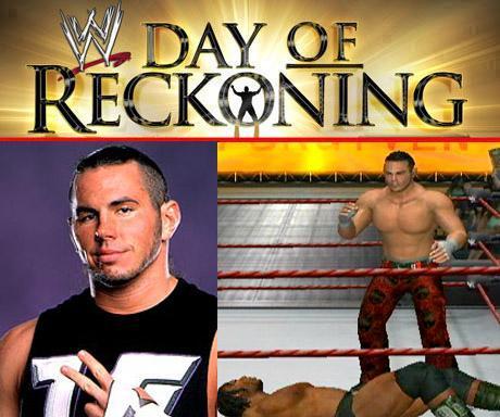 Matt Hardy - WWE Day Of Reckoning - Roster