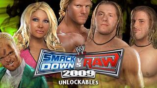SvR 2009 Road To WrestleMania Unlockables