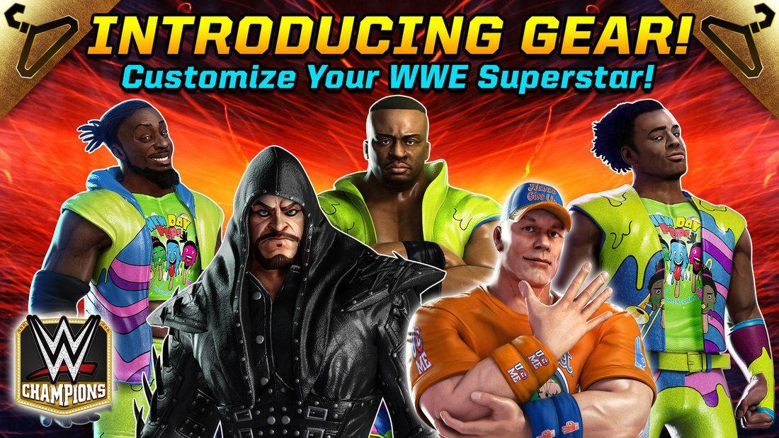 New WWE Champions Update introduces Superstar Gear (w/Trailer)