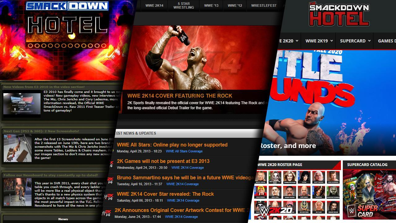 SDH Turns 10! Ten Years Anniversary of The SmackDown Hotel
