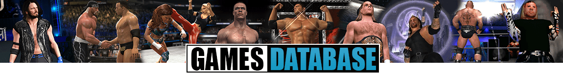 WWE Games Database - Wrestling Games Archive