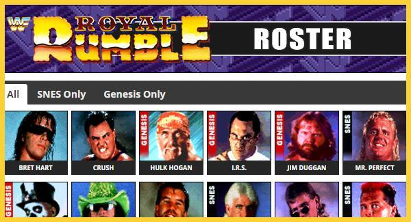 Wwf Royal Rumble 1993 Roster