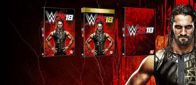 2K and WWE Games have announced 3 different Editions of WWE 2K18, available for PlayStation 4 and Xbox One platforms! Let's take an in-depth look at the content these limited editions include!