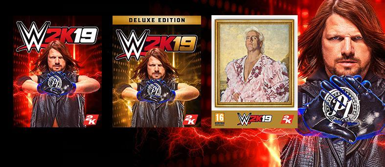 WWE 2K19 will come in 3 different editions, available for PlayStation 4, Xbox One and PC platforms!