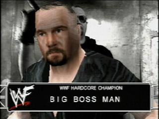 Big Bossman - WWF SmackDown! Roster - SD 1 Countdown