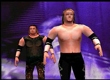 christian - WWF SmackDown! Roster - SD 1 Countdown