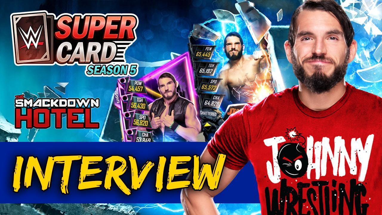 Exclusive Interview: Johnny Gargano on SuperCard Season 5, WWE Games, His Character, Career Goals and more