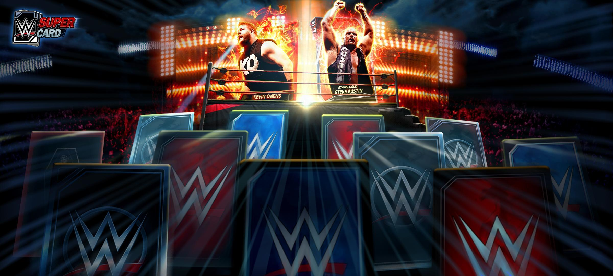 WWE SuperCard Season 3 introduces new Ranked & Wild Game Modes