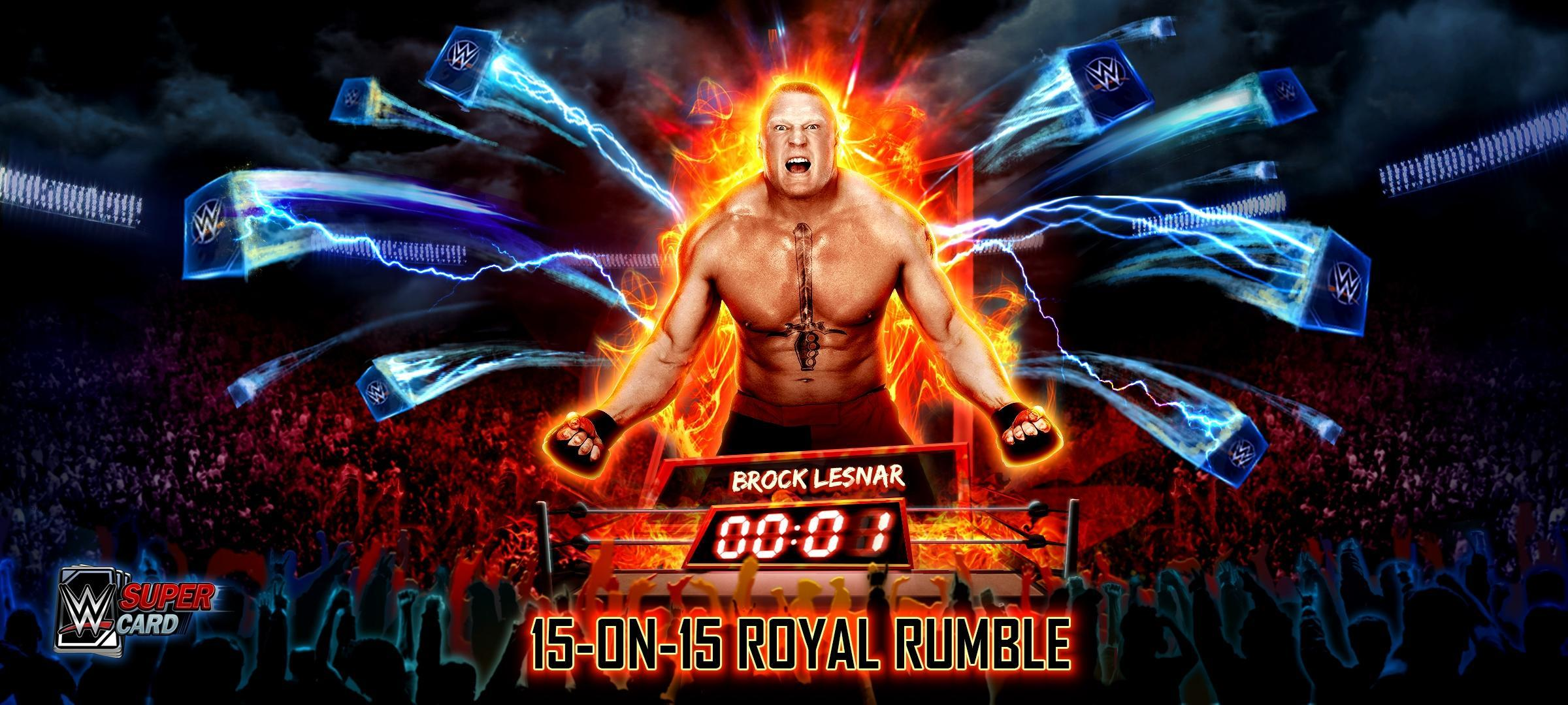 WWE SuperCard introduces Royal Rumble mode as part of Season 3