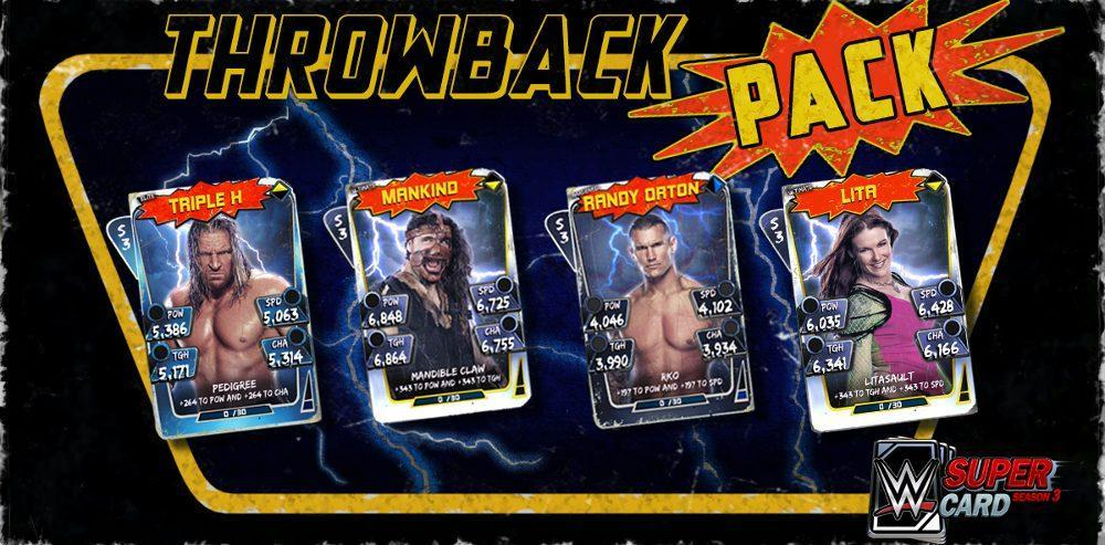 WWE SuperCard Adds Throwback Plus and Ranked Rewards