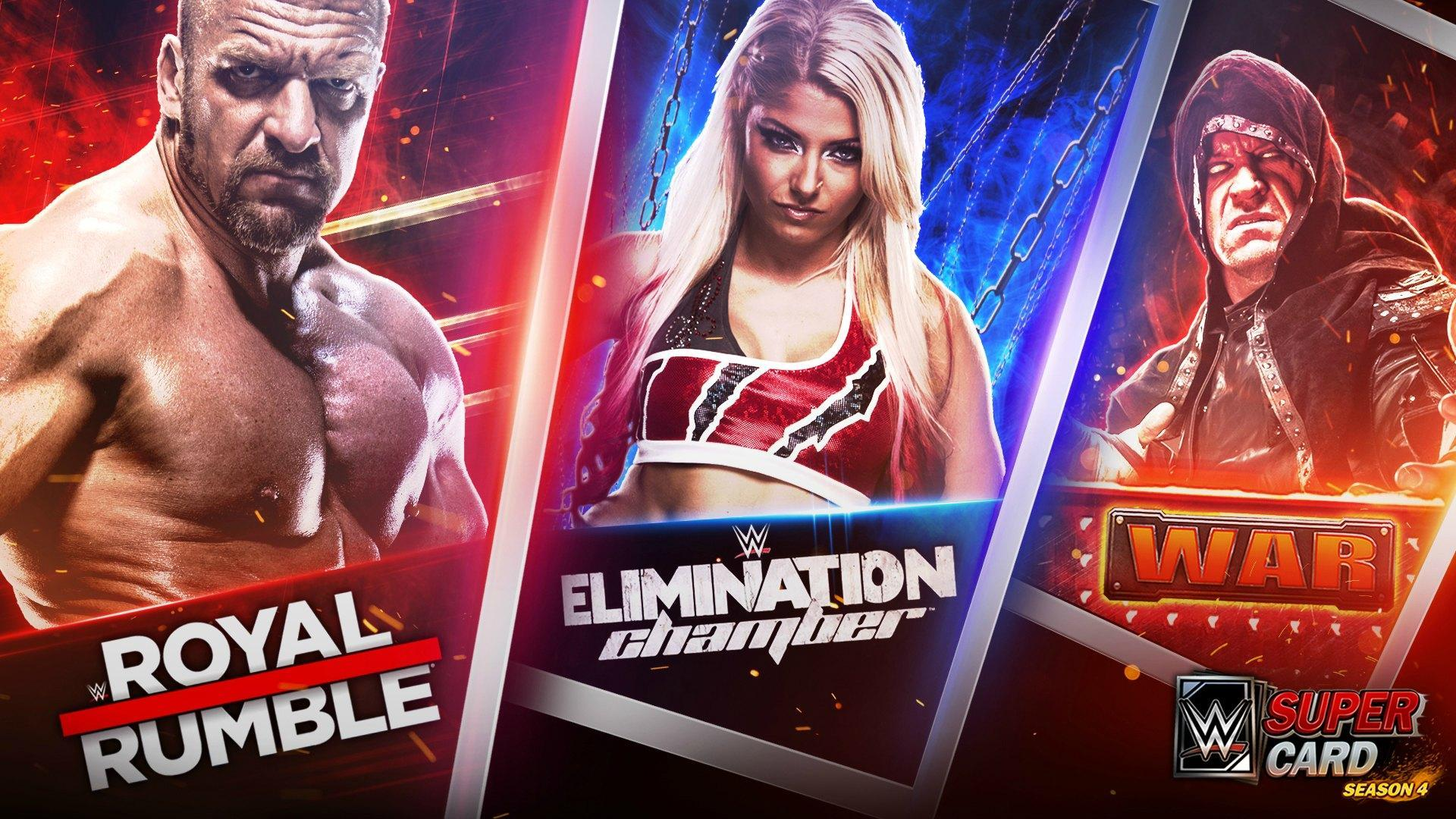 WWE SuperCard Game Modes Breakdown (updated to Season 4)