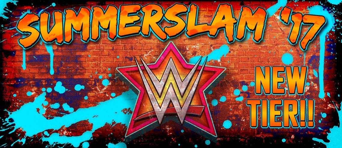 "New ""SummerSlam '17"" Tier announced for WWE SuperCard"