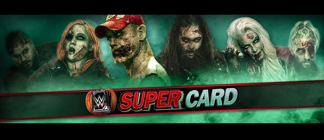WWE SuperCard Announces Halloween Themed Events & Zombie Cards!