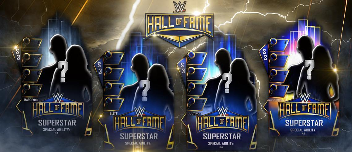WWE SuperCard: New Hall of Fame Cards, WrestleMania 33 Throwback & Fusions