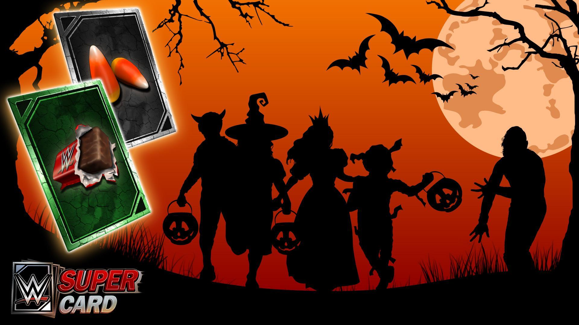 WWE SuperCard Unveils New Halloween Themed Zombie Cards - Trick or Treat