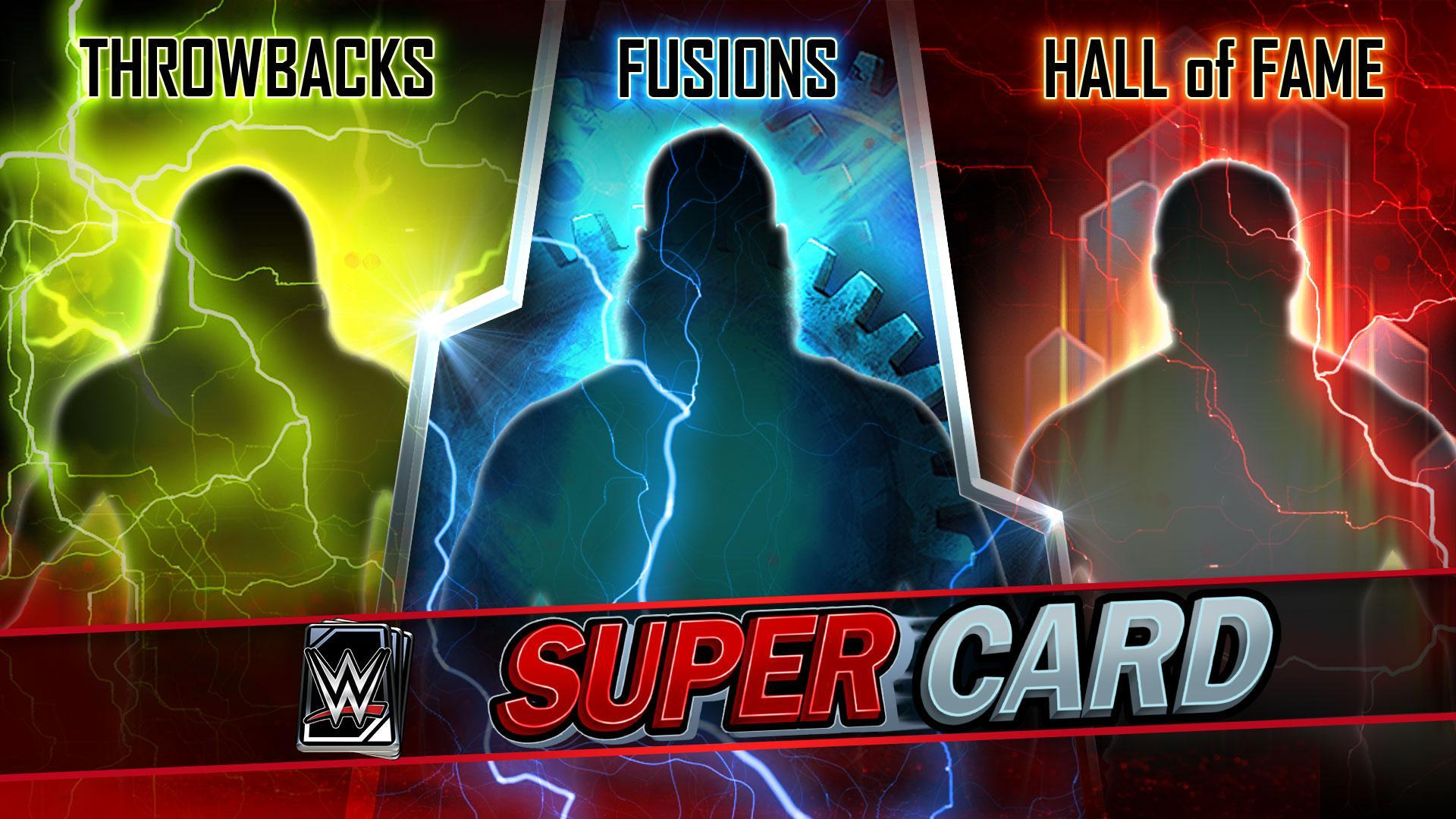 WWE SuperCard adds S4 Throwback, Fusion and WWE Hall of Fame Cards