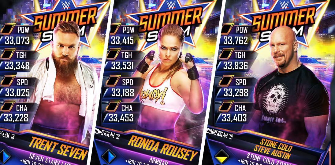 WWE SuperCard Introduces SummerSlam '18 Tier - All Details!