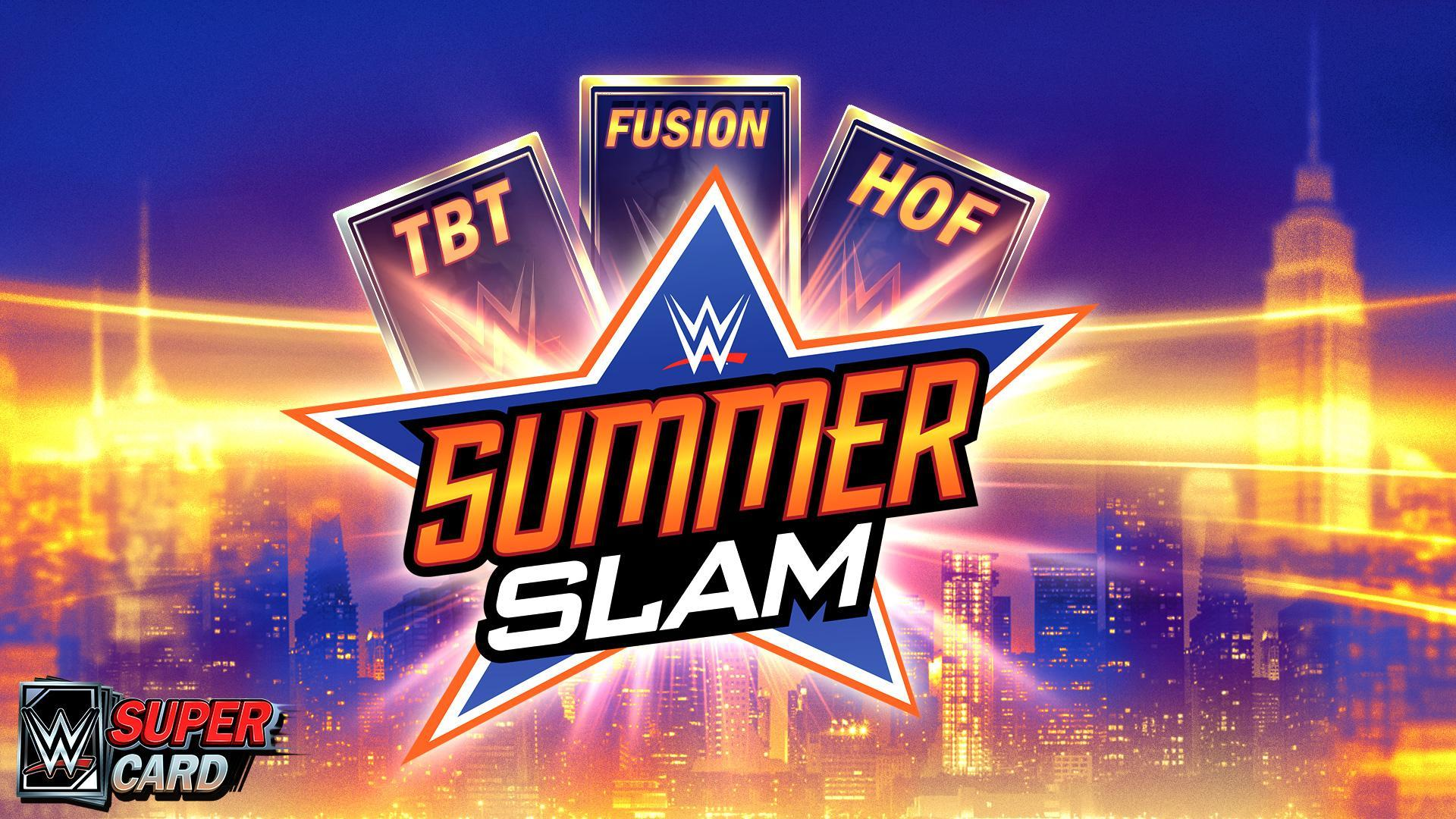 WWE SuperCard: New SummerSlam '18 Throwback, Fusion and Hall of Fame Cards
