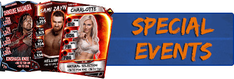 Special Events Cards