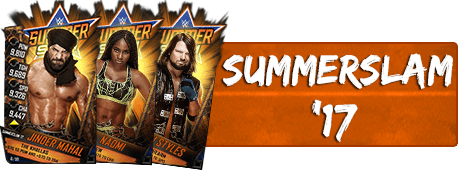 SummerSlam '17 Cards (132)
