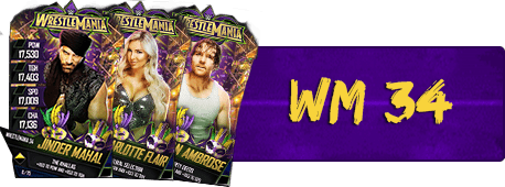 WrestleMania 34 Cards (129)