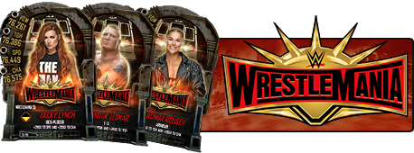 WrestleMania 35 Cards