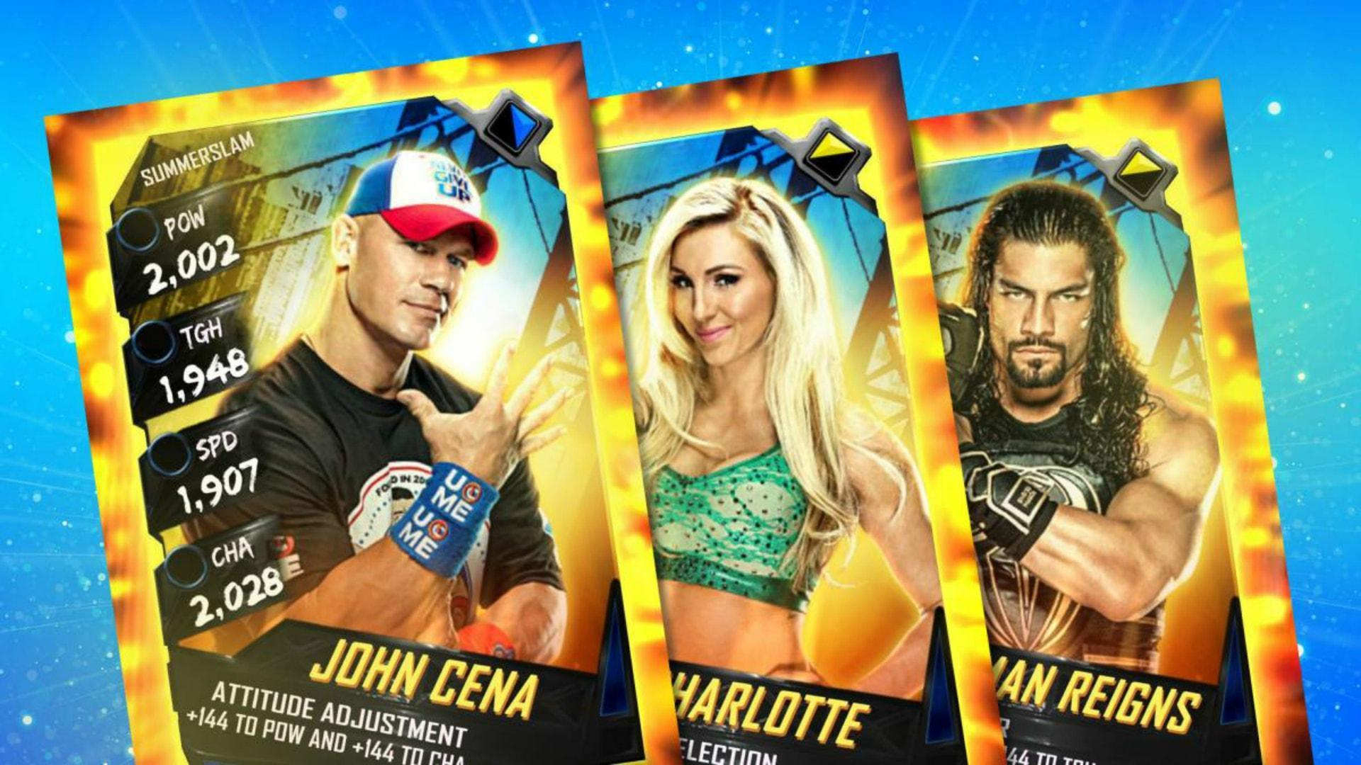 WWE SuperCard Debuts A New SummerSlam Tier