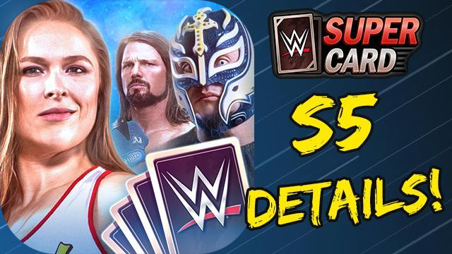 WWE SuperCard: Here Comes Season 5! New Gothic, Neon, and Shattered Tiers!