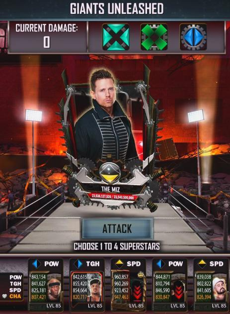 wwesupercard giants unleashed update