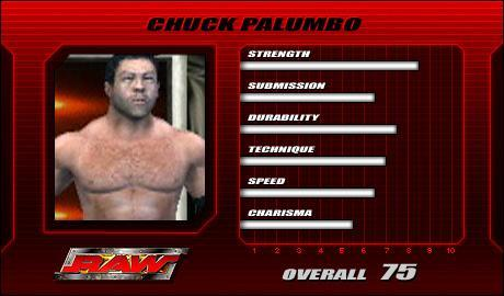 Chuck Palumbo - WWE SmackDown vs Raw 2005 Roster - SVR 2005 Countdown