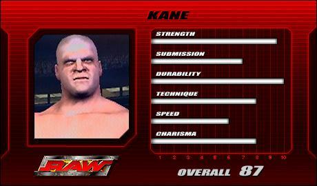 Kane - WWE SmackDown vs Raw 2005 Roster - SVR 2005 Countdown