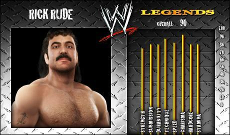 Rick Rude - WWE SmackDown vs Raw 2008 Roster - SVR Countdown