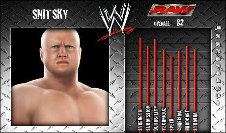 Snitsky - WWE SmackDown vs Raw 2008 Roster - SVR Countdown