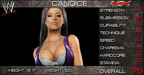 Candice Michelle - SmackDown vs Raw 2009 Roster - SVR2009 Countdown