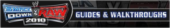 WWE SmackDown vs. Raw 2010 Guides & Walkthroughs