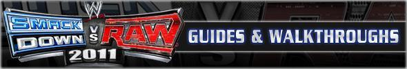 WWE SmackDown vs. Raw 2011 Guides & Walkthroughs
