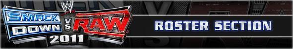 WWE SmackDown vs. Raw 2011 Full Roster