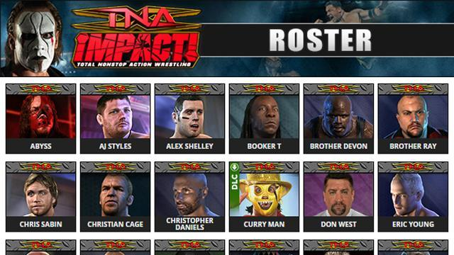 Tna Impact Roster