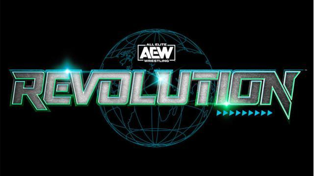 Image result for aew revolution card