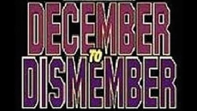 ECW December to Dismember 1995 - Results - ECW PPV Event