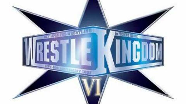 NJPW Wrestle Kingdom VI - Results - Other PPV & Special Events - Pay Per Views & Special Events - Pro Wrestling Events Database