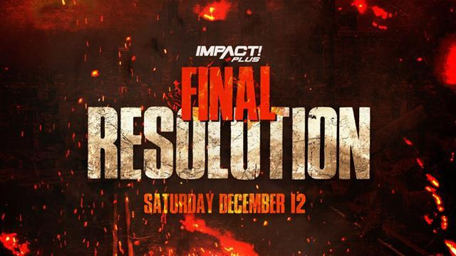 Watch TNA Impact Wrestling Final Resolution 2020 12/12/20